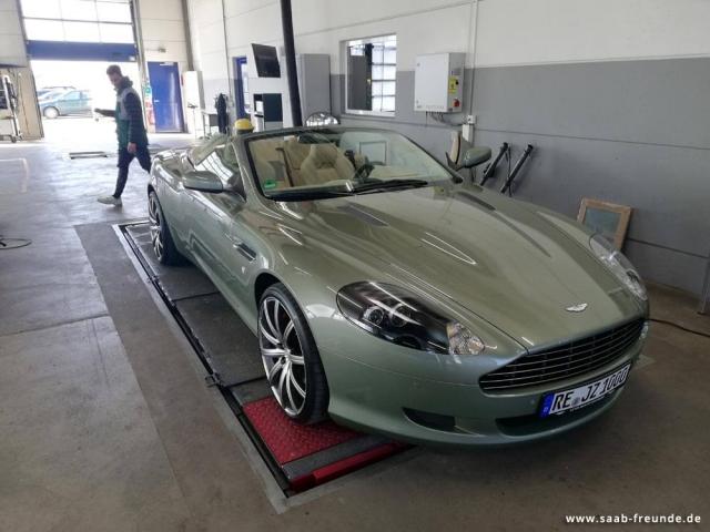 Aston Martin DB9 Volante 6,0 Ltr. V12 (12)
