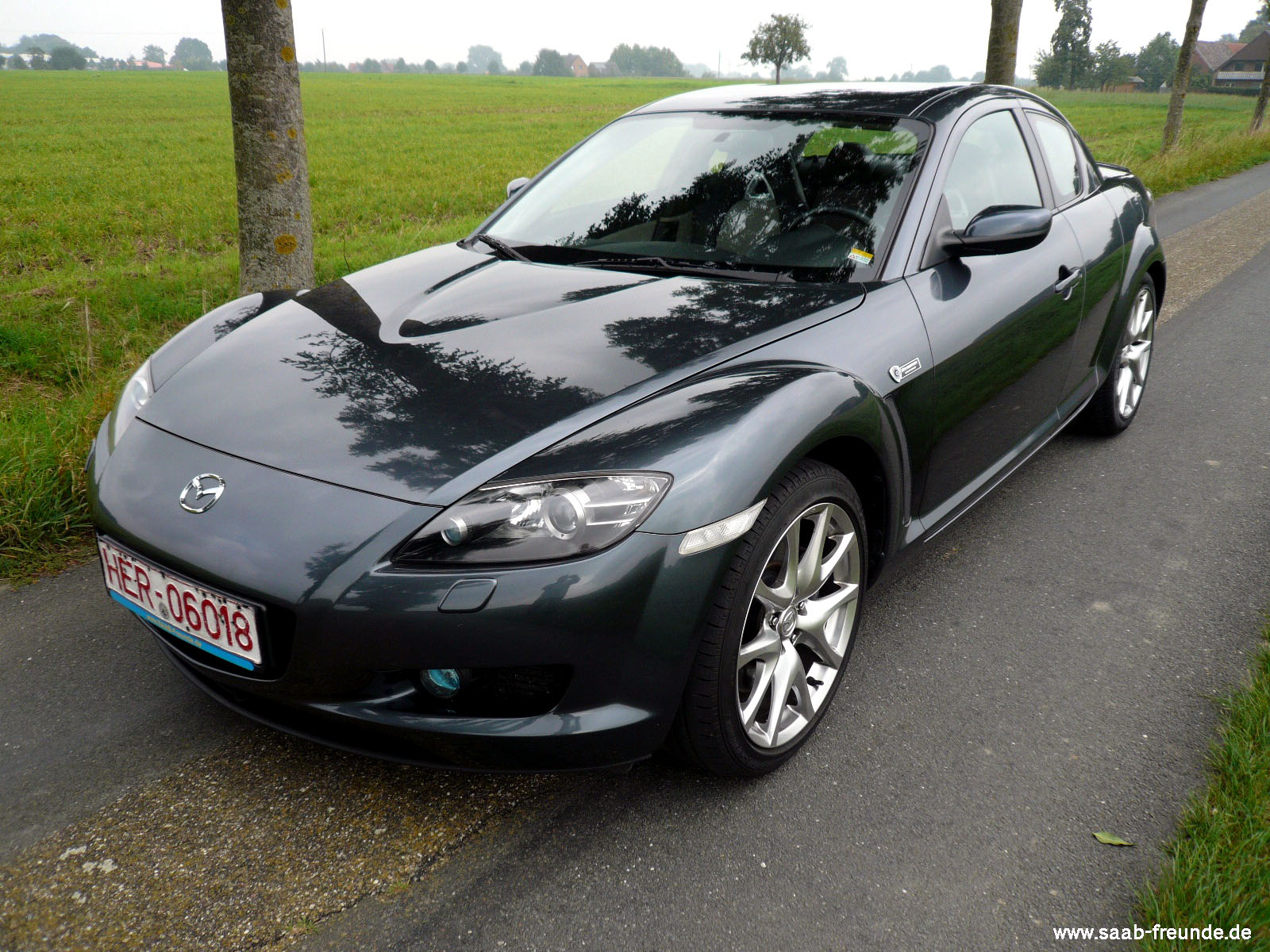 Mazda RX 8 40th Anniversary Rotary Engine