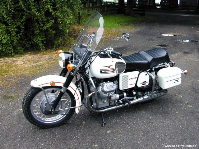 Moto Guzzi V7 Spezial Bauj. 1969