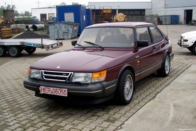 Saab 900 Turbo 8V Jubilee