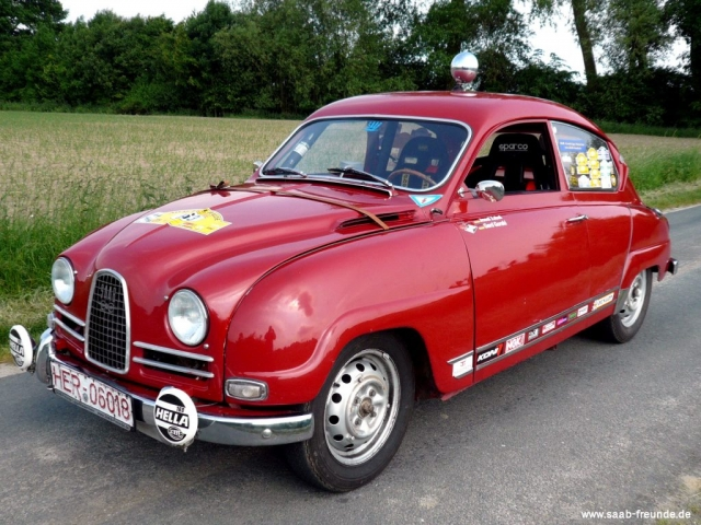 Saab 96 Sport Rallye FIA Group2 Sports Cars