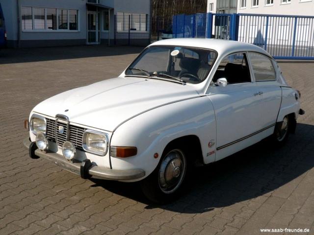 Saab 96 V4 2,0 Ltr. 110 PS (73KW)