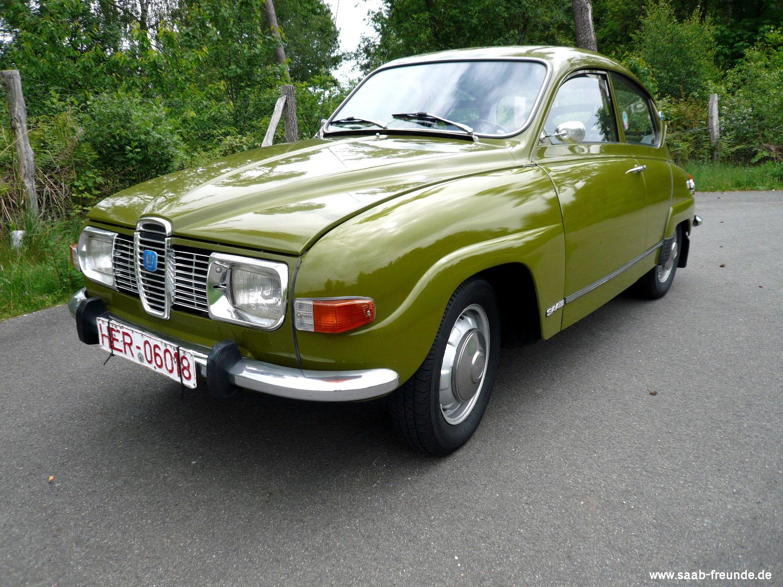 Saab 96 V4 Bauj. 1973