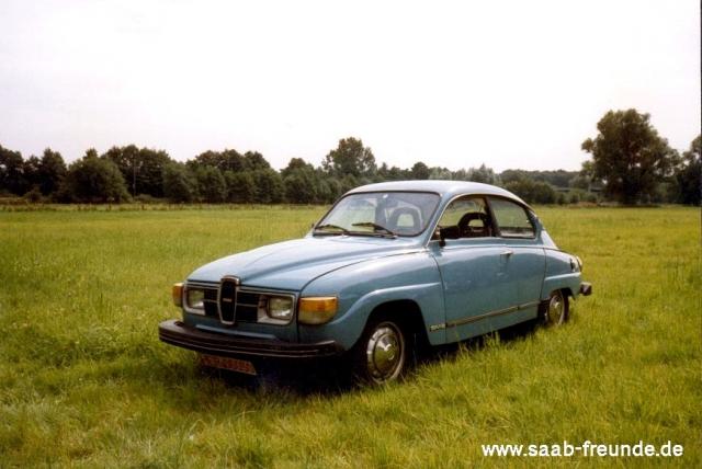 Saab 96 V4 Bauj. 1979