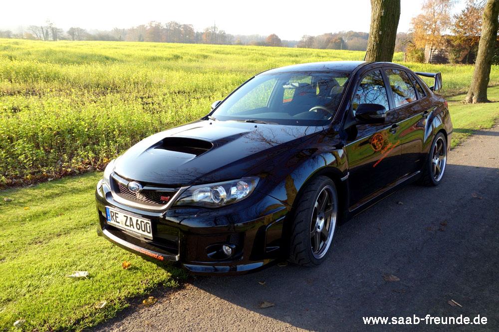 Subaru WRX STI 2,5 DOHC Boxer-Turbomotor
