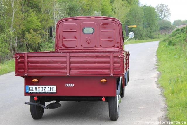 AUTO UNION,  DKW Schnellaster 3 = 6 ,  F 800/3 (04)