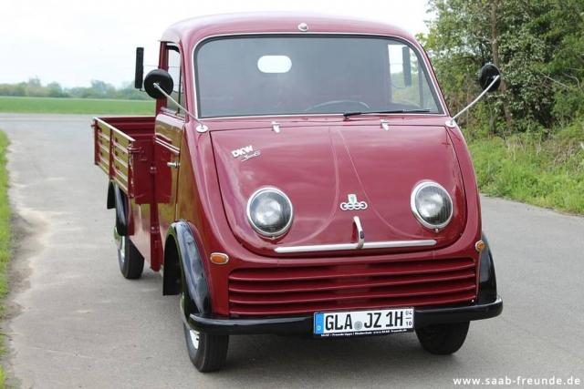 AUTO UNION,  DKW Schnellaster 3 = 6 ,  F 800/3 (06)