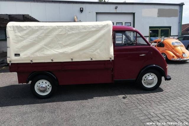 AUTO UNION,  DKW Schnellaster 3 = 6 ,  F 800/3 (30)