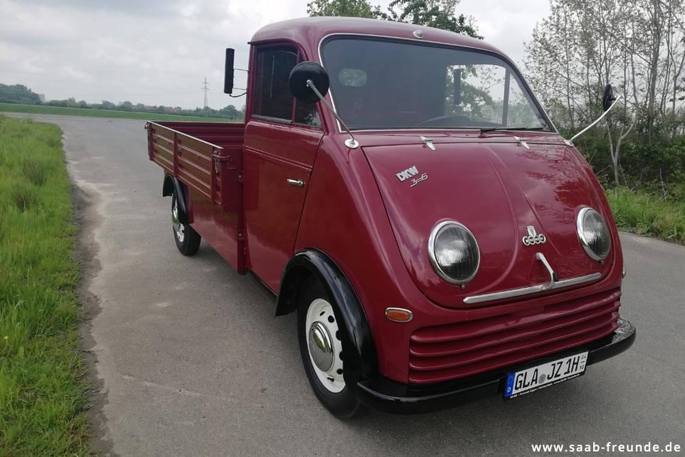 AUTO UNION,  DKW Schnellaster 3 = 6 ,  F 800/3 (34)