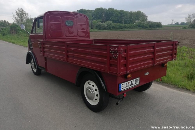 AUTO UNION,  DKW Schnellaster 3 = 6 ,  F 800/3 (36)